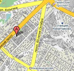 ФИАН на карте